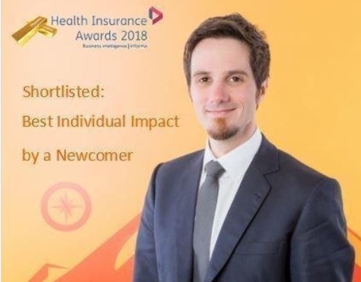 Ashley Woodrow shortlisted in National Health Awards